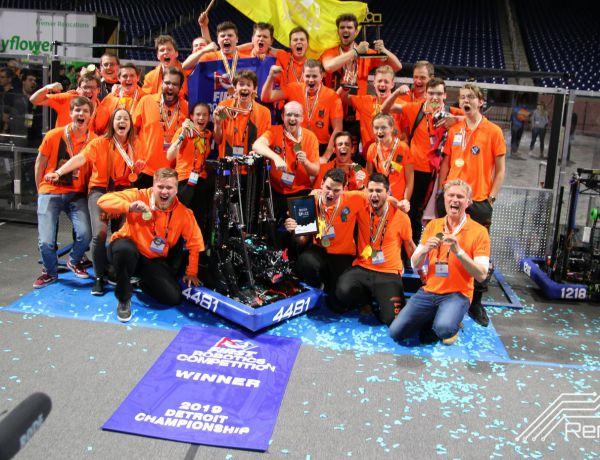 """""""Wereldkampioen robotica!"""""""