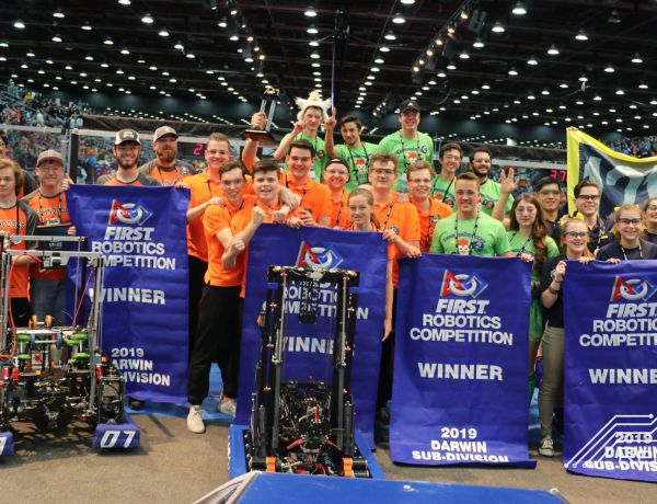 Team Rembrandts: World Champion in Robotics