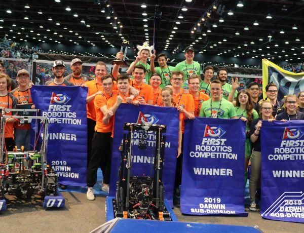 Team Rembrandts wereldkampioen robotica