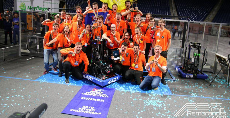 'World Champions in Robotics!'