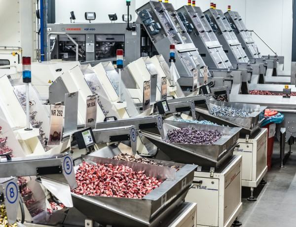 Vijf trends in het co-packen van confectionery